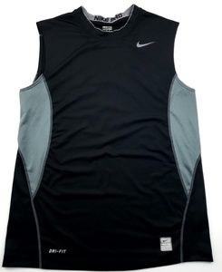 Mens Nike pro drifit fitted tank top sz med A6